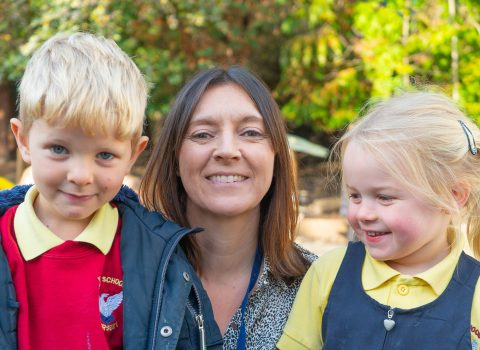 National Recognition for Yarm's Nursery Teaching Assistant