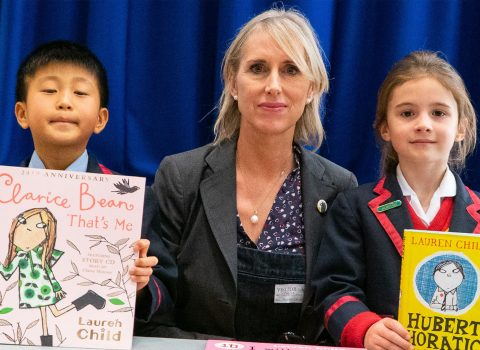 Leading Author Visits Yarm to Speak to Local Primary Schools