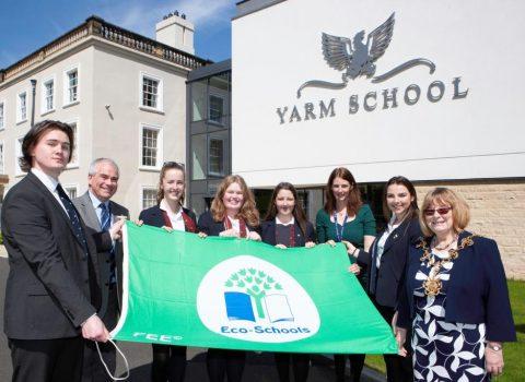 Yarm School's Fourth Green Flag Award Win
