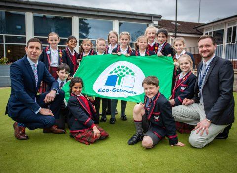 Prep School Wins an Eco-Schools Green Flag Award