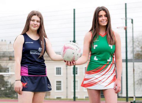 International Netball Success for Two Yarm School Pupils