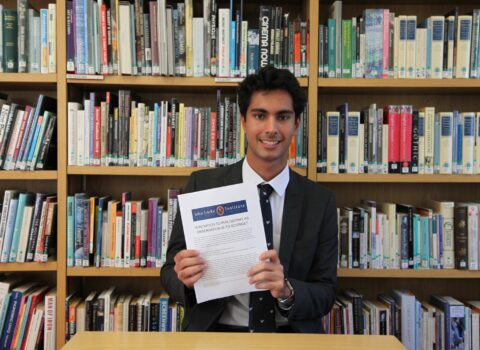 Yarm Sixth Form Student Makes Shortlist In The John Locke Essay Competition 2020