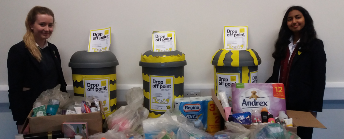 Yarm Community Action Group Organises Charitable Collection for The Hygiene Bank
