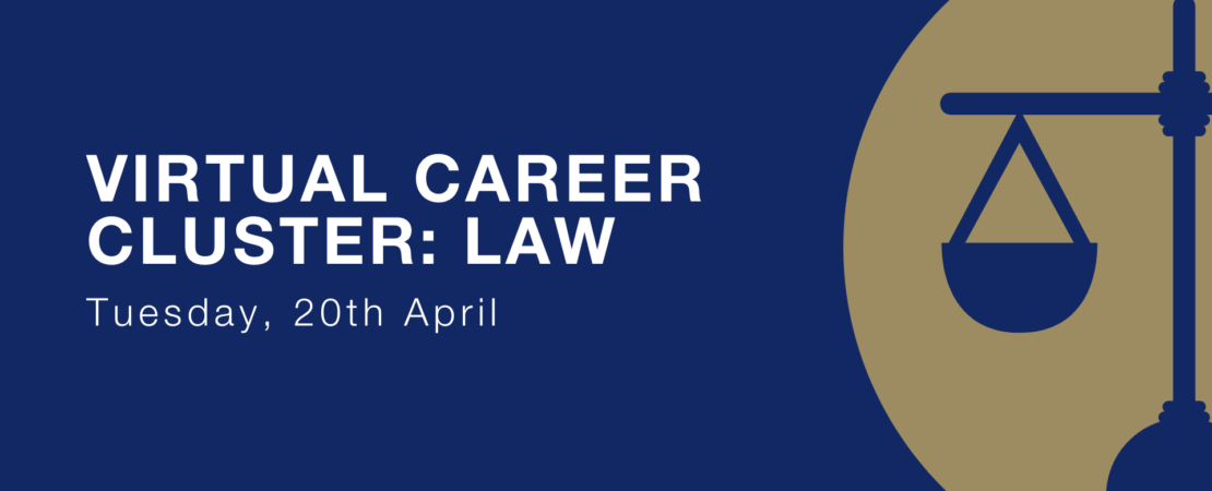 Virtual Career Cluster Event: Law