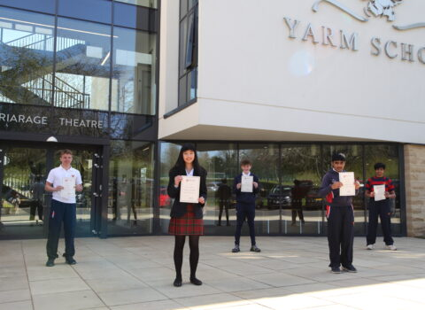 The Statistics Are Promising For Yarm School's Mathematicians