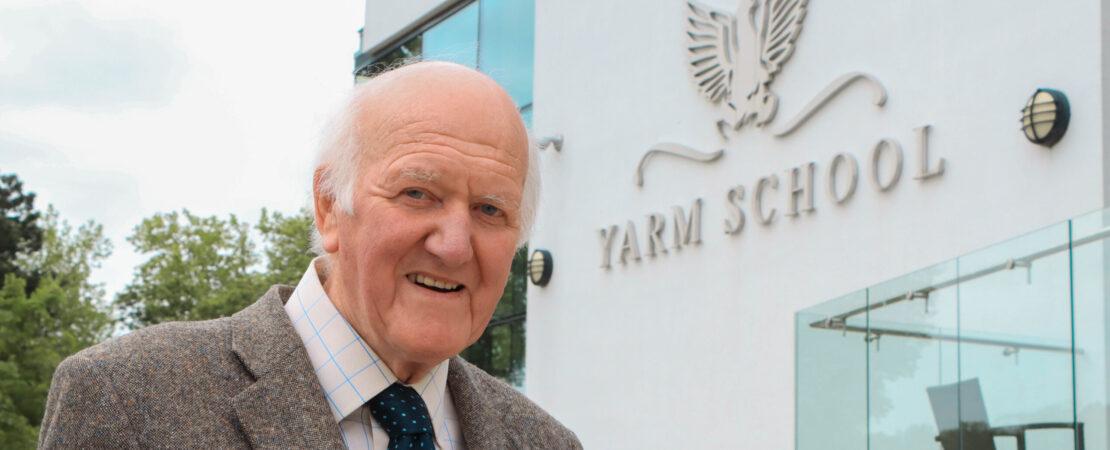 Yarm School's Founding Headmaster Is Awarded An OBE
