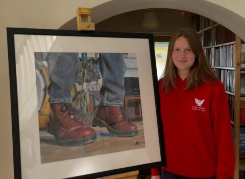 Sixth Form Student Paints A Picture Of Success