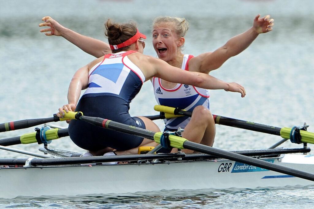 North East Olympic Champion Kat Copeland
